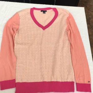 7471d16ba Tommy Hilfiger Sweaters - Tommy Hilfiger Pink Sweater